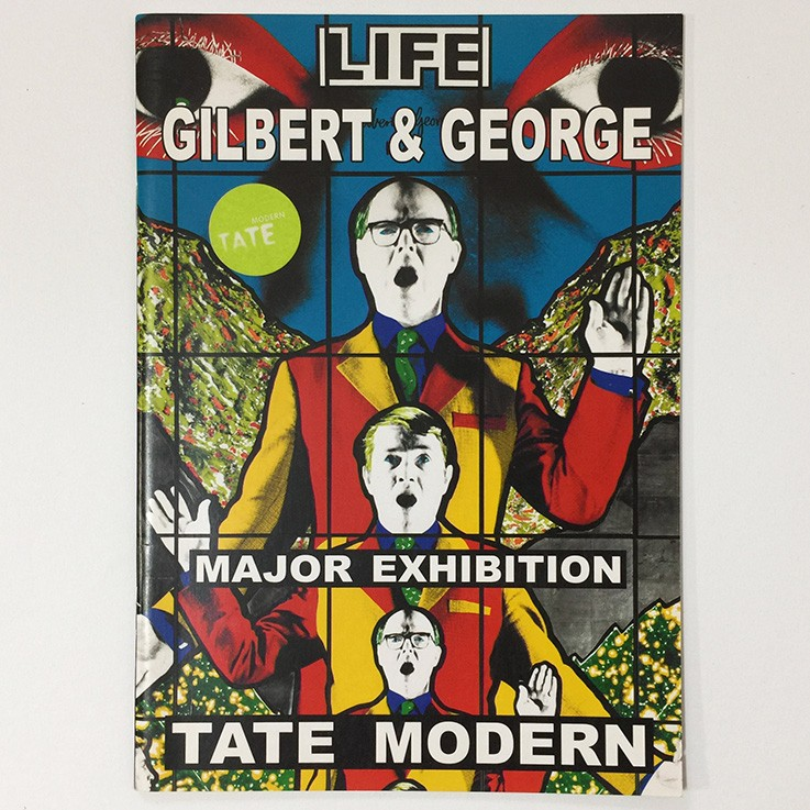Gilbert and George: Tate Modern Major Exhibition Programme, Tate Modern 2007 $15.00 by ART BOOKS