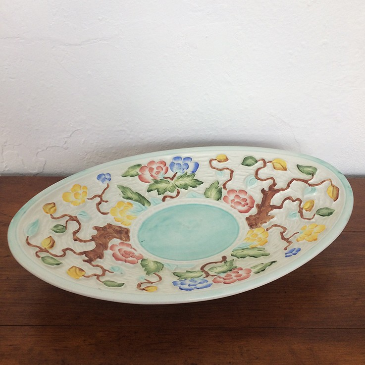 Indian Tree Handpainted Dish by H.J.Wood England $45.00 by INTERNATIONAL CERAMICS