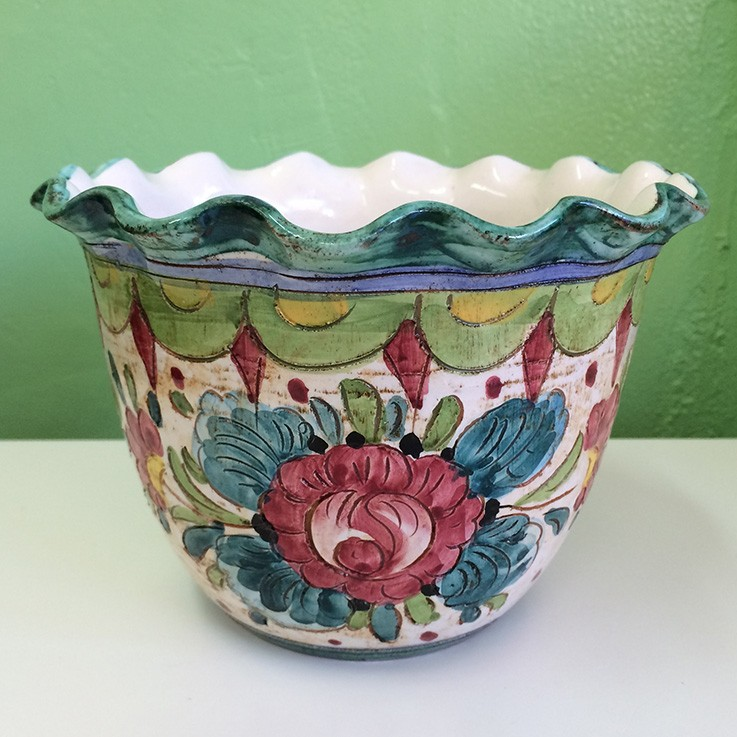 Italian Decorative Plant Pot $60.00 by FLORAL/FOLIAGE PLANTERS
