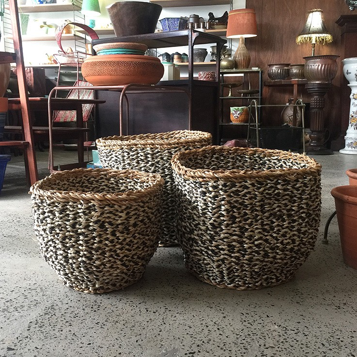 Seagrass and Jute Baskets (various prices) by FAIR TRADE BASKETS