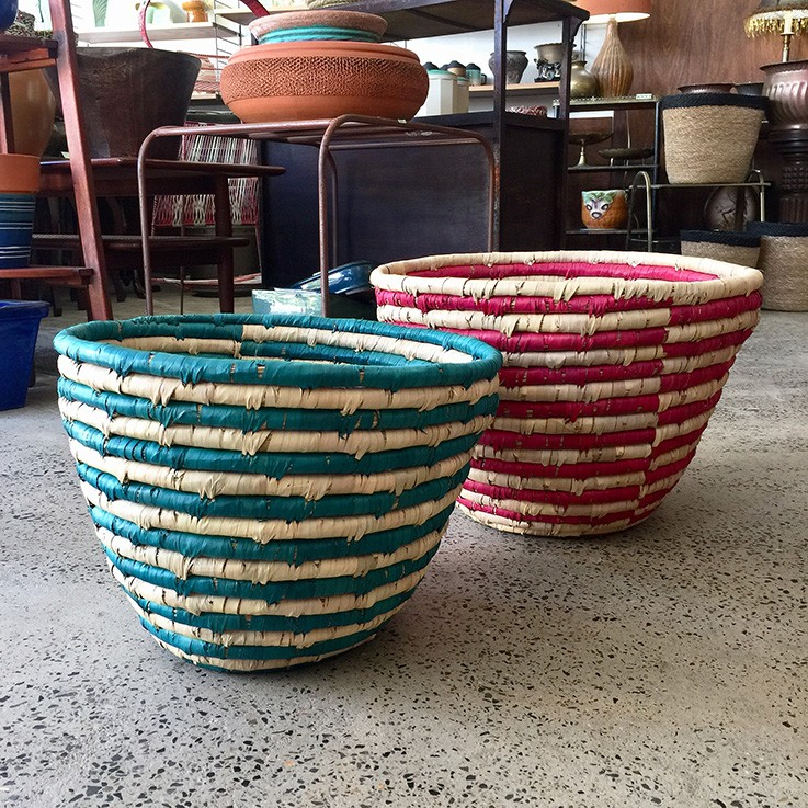 Date Leaf Baskets (various prices) by FAIR TRADE BASKETS